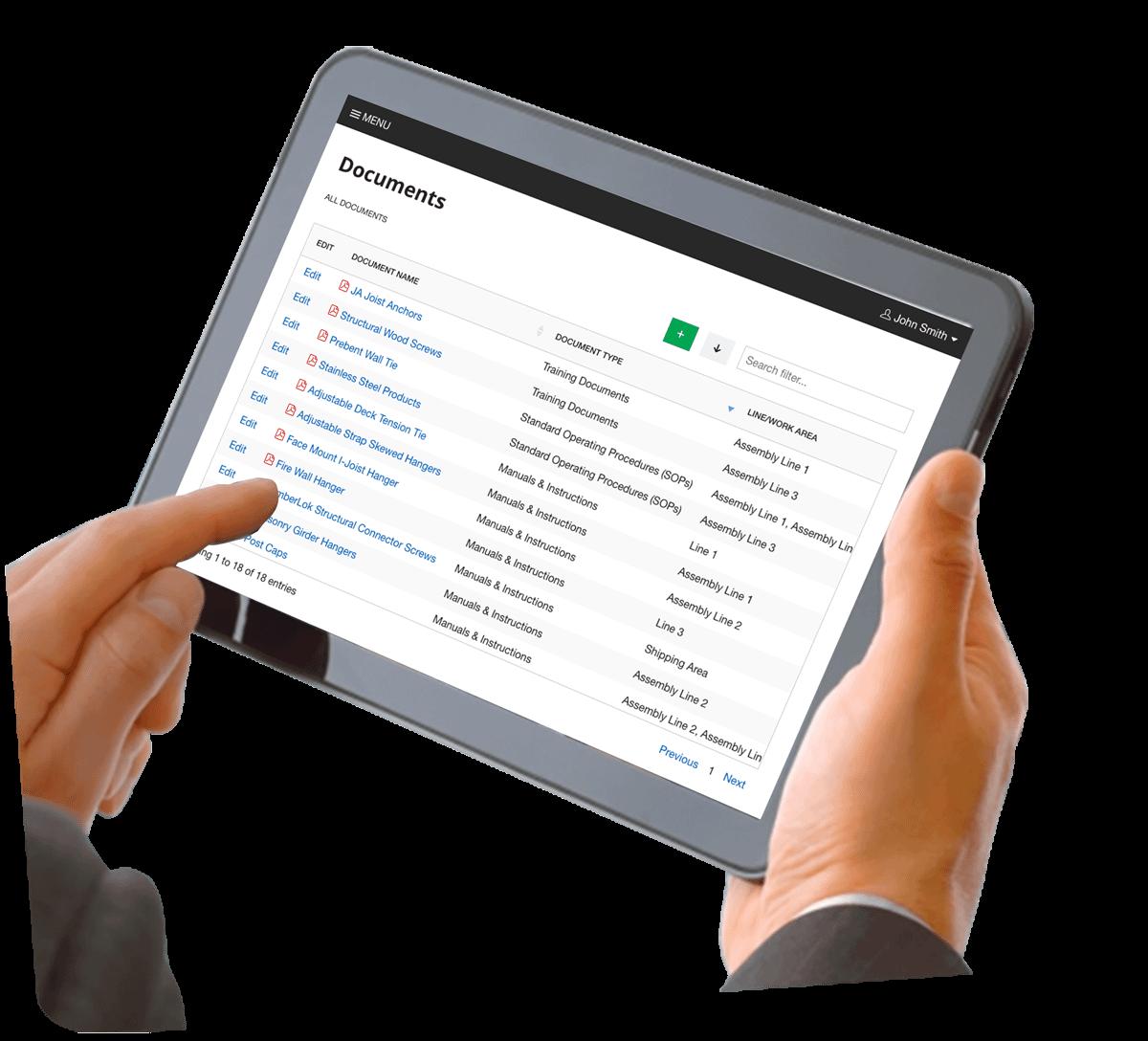 documents management forms automation