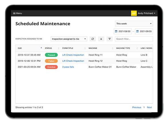 maintenance-schedule