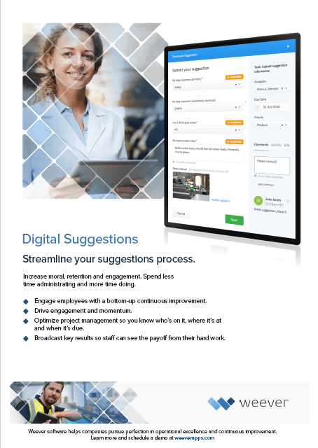 Digital Suggestions brochure