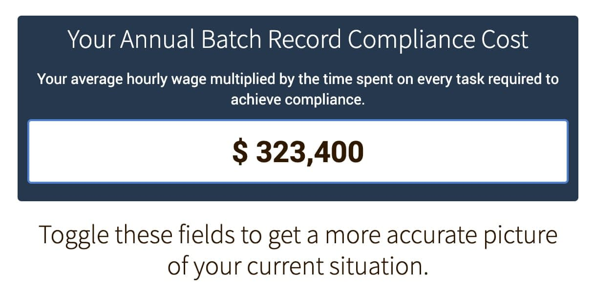 batch-record-compliance-calculator