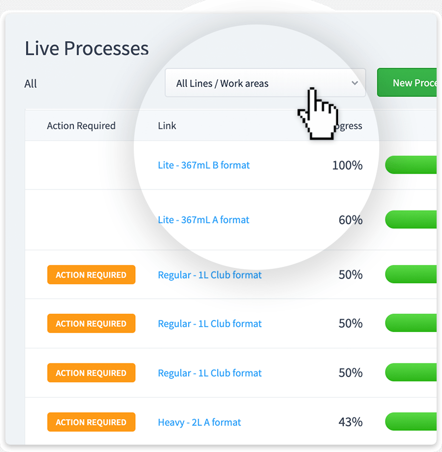 Live Processes