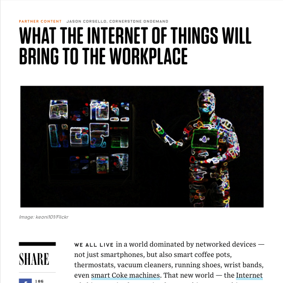 wired internet of things